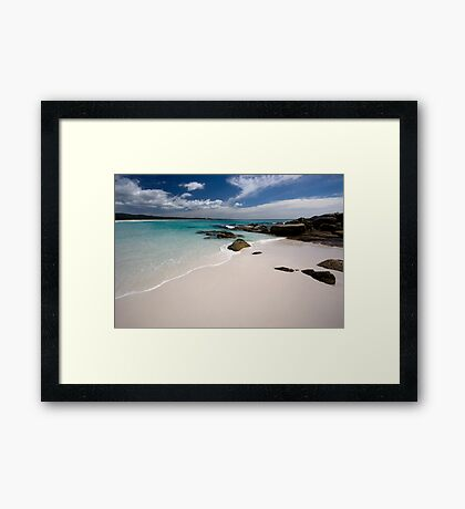 Bay of Fires   - Tasmania coast  Framed Print