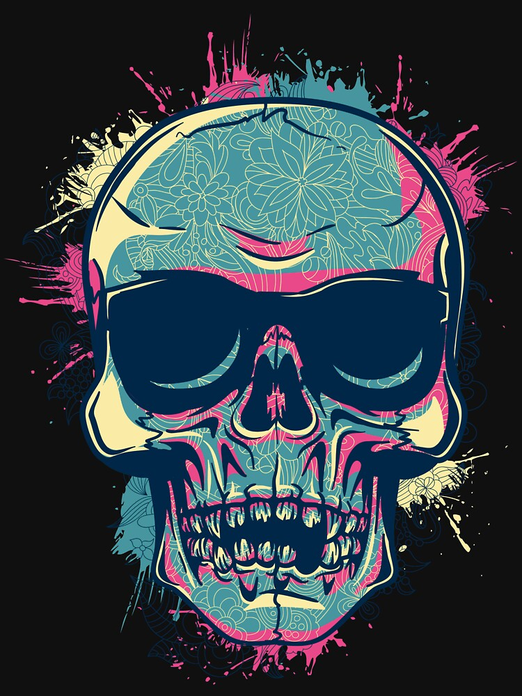 Colorful skull by designhp