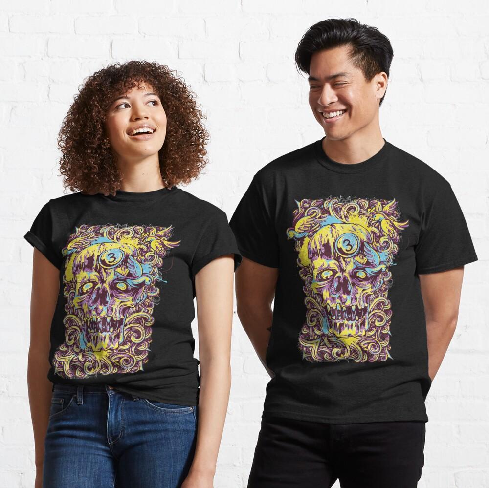 Sugar Skull Fashion Classic T-Shirt