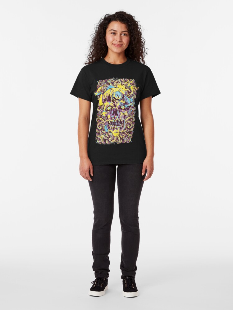 Alternate view of Sugar Skull Fashion Classic T-Shirt