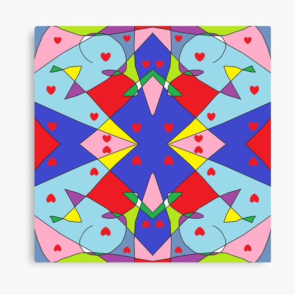 New Money Abstract Painting Canvas Print