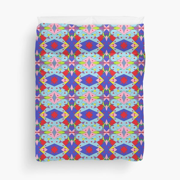New Money Abstract Painting Duvet Cover