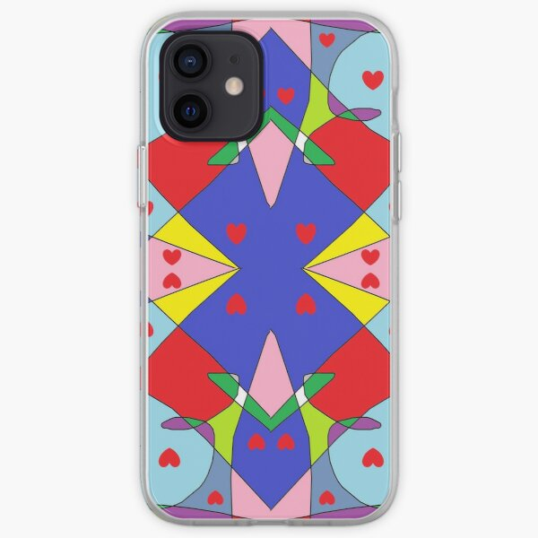 New Money Abstract Painting iPhone Soft Case