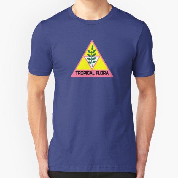 Silent Running - Tropical Flora Slim Fit T-Shirt