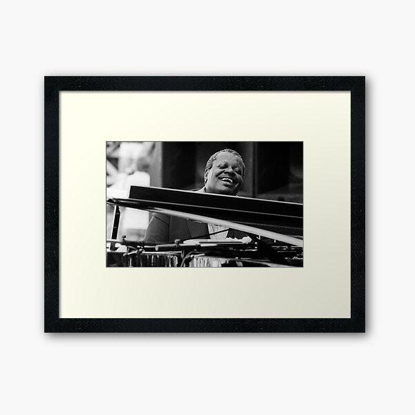 Oscar Peterson Framed Art Print