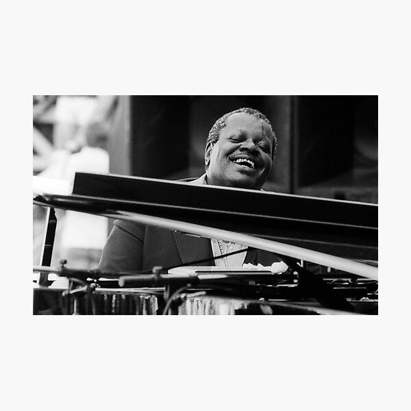 Oscar Peterson Photographic Print