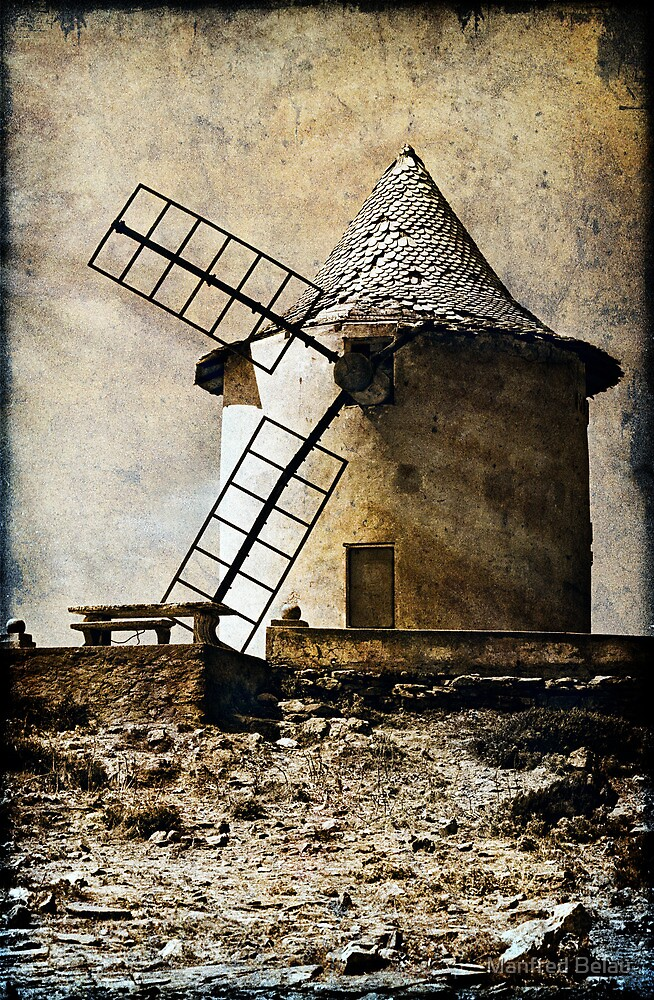 Windmill of your mind by Manfred Belau