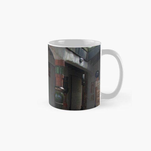 Entrance To The Hundertwasser Toilets Classic Mug