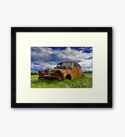 """""""At A Standstill"""" Framed Print"""