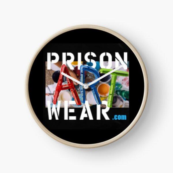 It doesn't matter how you spell it. PrisonArtWare.com delivers! Clock