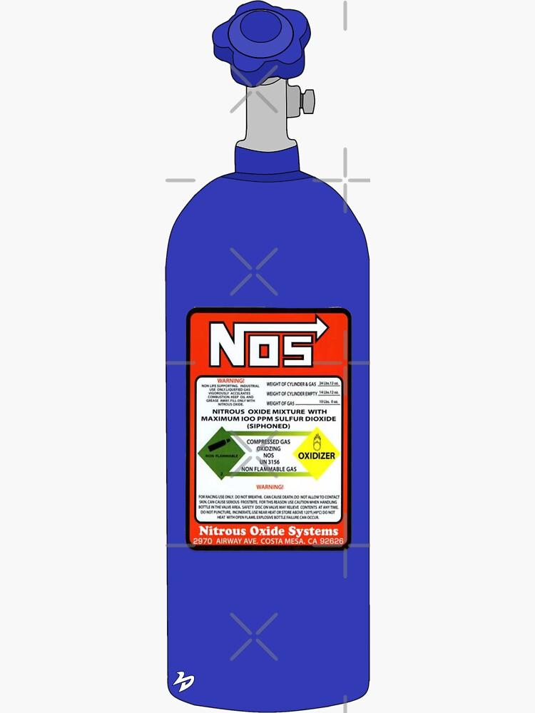 NOS Tank - Nitrous Oxide  by lushdubmedia