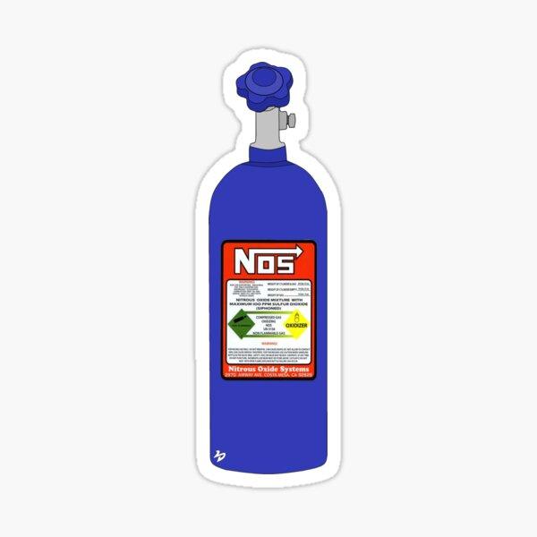 NOS Tank - Nitrous Oxide  Sticker