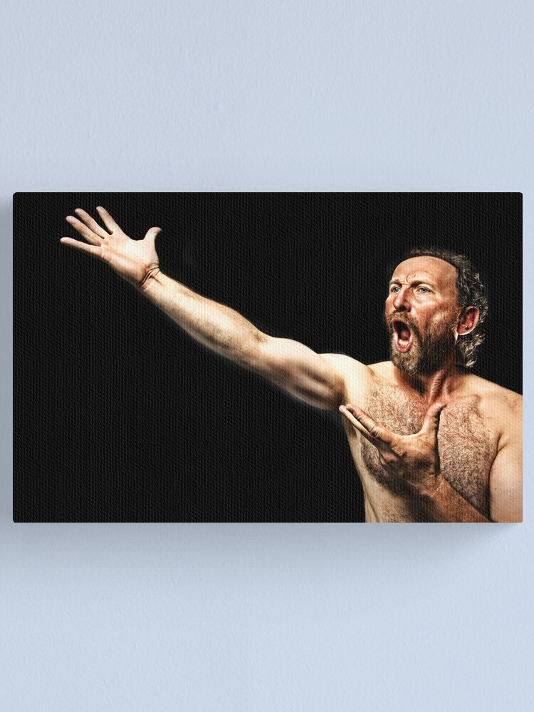 Alternate view of The Opera Singer. Canvas Print