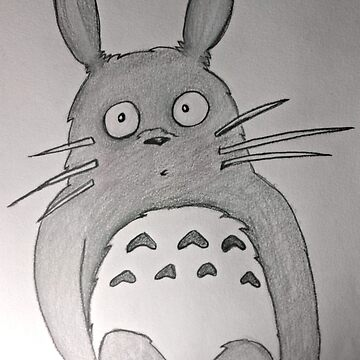 Totoro on a Branch by picoleodeon