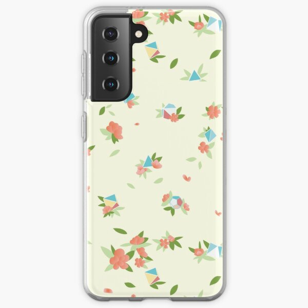 Polyhedral Dice-- Beach Rose Samsung Galaxy Soft Case
