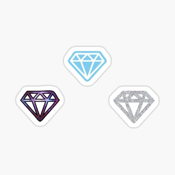 Diamonds <> Sticker