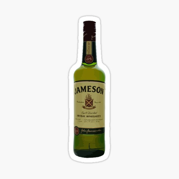 Bouteille de Whisky Jamson Sticker