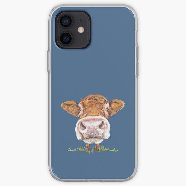 Cute Cow iPhone Soft Case