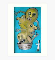 Mega potato for the world hunger Art Print