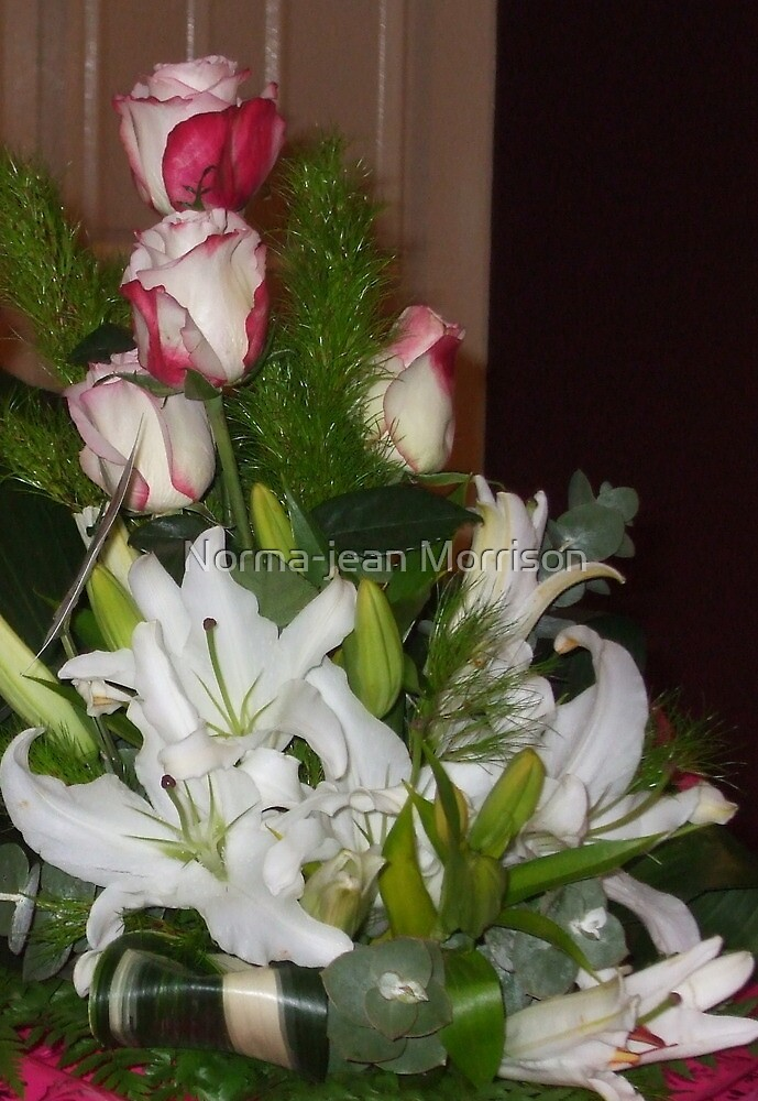 """ Flowers for Norma-Jean"" by Norma-jean Morrison"