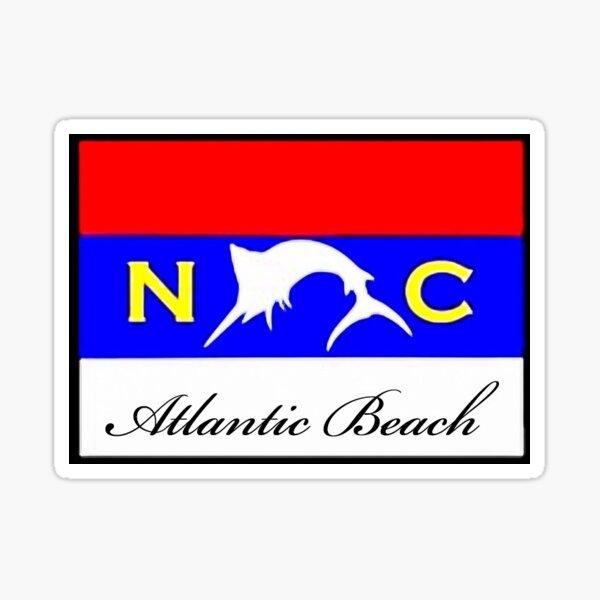 Atlantic Beach NC Sticker