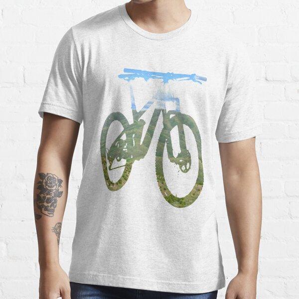 Mountain Bike Mountain und Sky - MTB Kollektion # 003 Essential T-Shirt