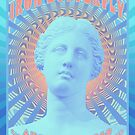 Psychedelic Poster - Iron Butterfly / San Francisco 1969 by BLTV