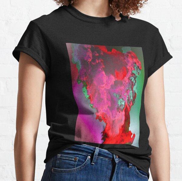 Smoke Abstract Gradient Blast Classic T-Shirt