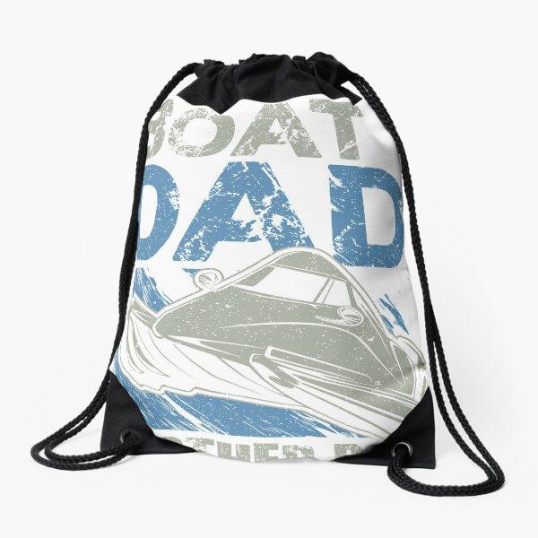 Powerboat Dad Drawstring Bag