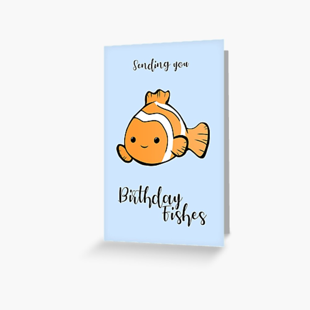 Sending You Birthday FISHes
