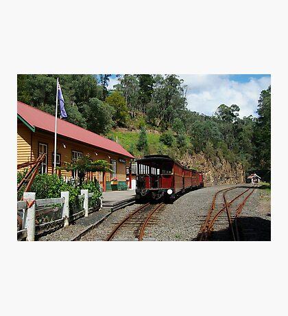 Walhalla Railway Station,Stringers Creek Gorge Photographic Print