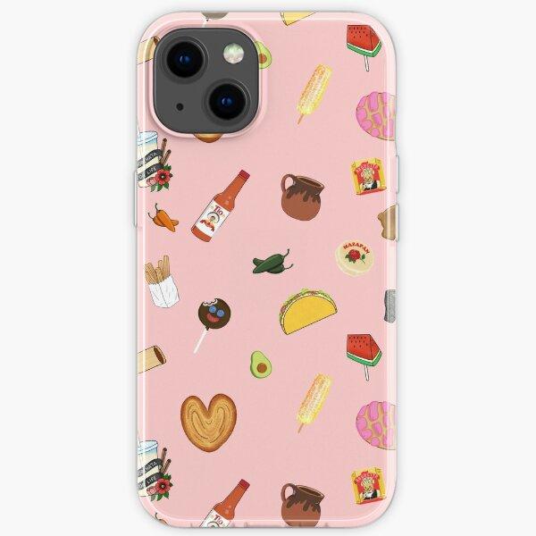 Antojitos Pink iPhone Soft Case