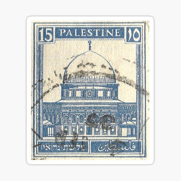 Timbre Palestine, années 1920 Sticker