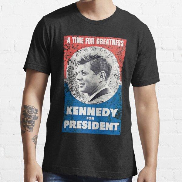 JFK John F Kennedy for President T-Shirt Retro Poster Design Essential T-Shirt
