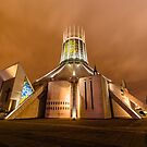 Holy UFO / Liverpool Metropolitan Cathedral by stephenk