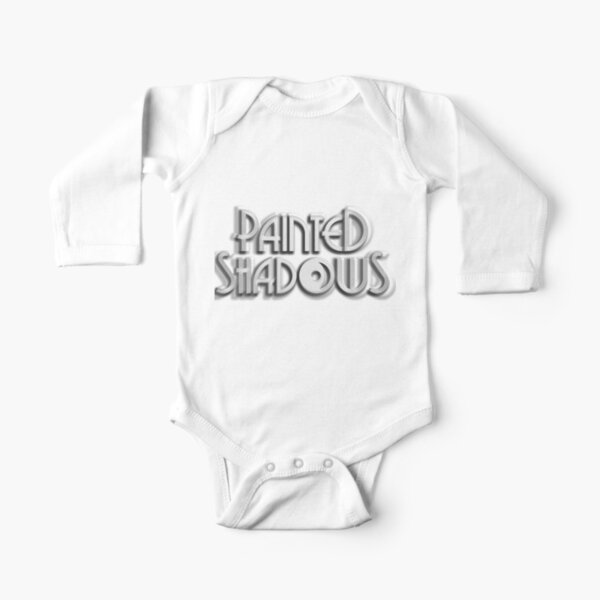 Painted Shadows Logo Long Sleeve Baby One-Piece