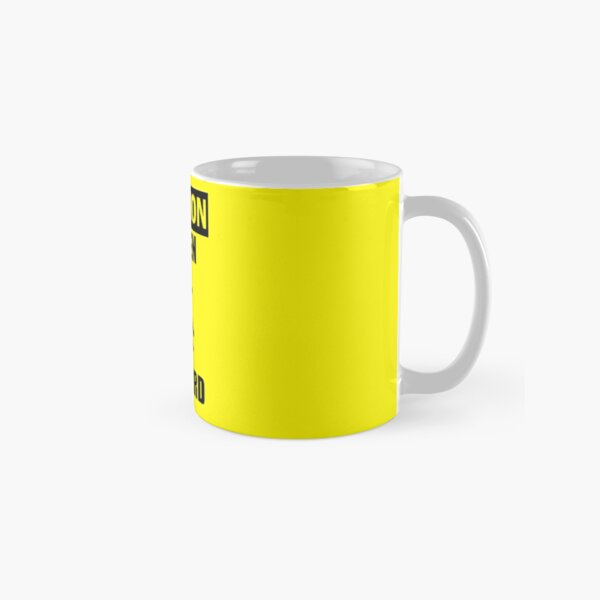 Caution: Steven Gerrard Classic Mug