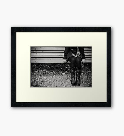 place for you Framed Print