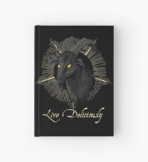 Black Phillip - Live Deliciously (The Witch) Hardcover Journal