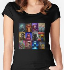 Muppet Maniacs Series 1 Women's Fitted Scoop T-Shirt