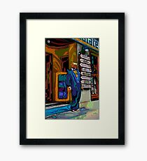Bare feet Art Framed Print