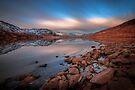 Loch Arklet, glacial long exposure..  by David Mould