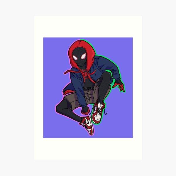 Spiderverse Art Print