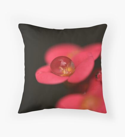 Every Drop Matters Throw Pillow