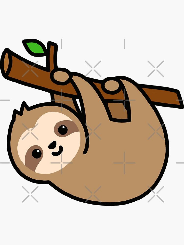 Sloth by littlemandyart