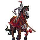 Red Knight by Unicornarama