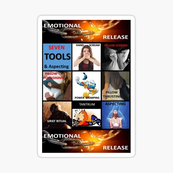 7 Tools for Emotional Release Sticker