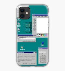 Windows 95 Productivity Flow iPhone Case