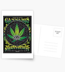 Cannabis , Smoke the Best Postcards