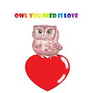 Owl you need is love by Marcusnfriends